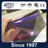 青いカメレオンのWindowsの太陽フィルムへの高い耐熱性紫色