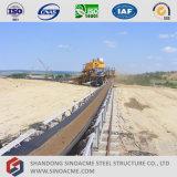 Sinoacmeは鉱山のコンベヤーの鉄骨構造を組立て式に作った