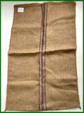 Jutefaser-Beutel des blauen Streifen-3 für Verpackung 100kg