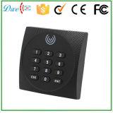 lecteur de RFID imperméable à l'eau de contrôle d'accès de porte de résine de l'ABS IP64 de 13.56MHz Wiegand 34