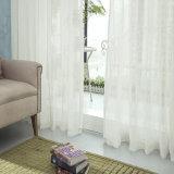 古典的な家具製造販売業のリネン固体ボイルの薄いカーテンファブリック(18F0103)