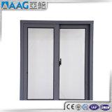Finestra di alluminio di profilo/doppia finestra di alluminio di vetro/finestra di scivolamento