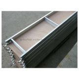 Aluminiumbaugerüst-hölzerne Planke mit Haken