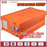 2017熱い販売の尊敬の太陽系5.2kwh電池の背部価格32部分の50ah LiFePO4電池16s2pの