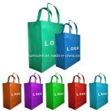 Sacos de compra Hm-Nsp-0023889 não tecidos verdes