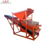 Amplamente utilizado em instalações de potência e local de construção areia Diesel Screener do fabricante da máquina