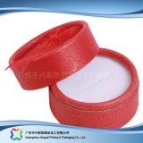 Caisse d'emballage de empaquetage de papier de luxe de boucle de bijou de cadeau de tube (xc-ptp-020)