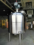 Acero inoxidable refrigeración y calefacción, el envejecimiento de la leche de la máquina