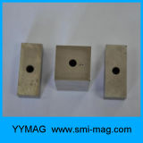 Block AlNiCo Magnet with Hole for Magnetic Sucker