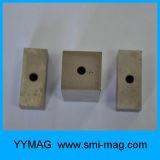 De Magneet van AlNiCo van het blok met Gat voor Magnetische Uitloper