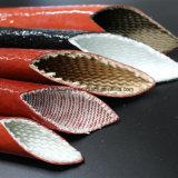 Wärmeisolierung-Material-Silikon-Gummi-überzogenes Fiberglas Sleeving