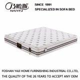 Tejido de tela de la cubierta de compresión de primavera de colchón con látex natural de algodón mullido para muebles de cama, Fb732