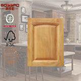 Estilo Americano de madera del gabinete de cocina de diseño de la puerta (GSP5-006)