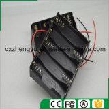 10AA de nouveau au support de batterie arrière avec fils de fil rouges/noirs