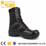 Tactische Laarzen van de Politie van de Kleur van de goede Kwaliteit de Zwarte