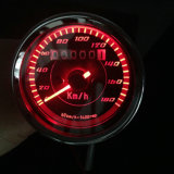 12V всеобщий спидометр Backlight Odometer+Tachometer мотоцикла СИД
