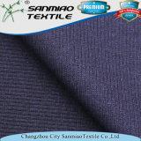 Tessuto di lavoro a maglia del denim tinto filato della nervatura dell'indaco 2*2 di stirata