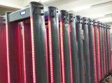 Marco de la puerta de la columna elíptica seguridad Detector de Metales de paseo por el detector de metales