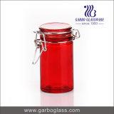 Bottiglia di vetro personalizzata di colore dello spruzzo