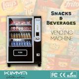La cigarette et peut distributeur automatique de nourriture supporter le paiement de carte