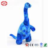 Jouet bourré par dinosaur debout mou bleu-clair de Camarasaurus de peluche d'OEM