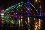 Скача ламинарный фонтан воды украшения сада фонтана воды двигателя напольный