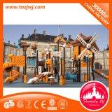 OpenluchtSpeelplaats van het Stuk speelgoed van de Apparatuur van het Spel van het Thema van de windmolen de Plastic voor School