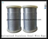 19X19 Iwrc Compacted Bright Wire Rope Eips (Rotation Resistant)