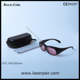 Alexandrite 755нм лазерный защитные очки и 808нм лазерный диод защиты защитные очки с рамы 33