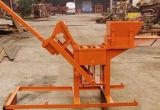 Lage het Maken van de Baksteen van de Klei van de Investering Kleine HandMachine, het Maken van de Baksteen van de Grond Machine Qts1-40