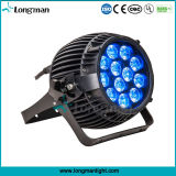 Outdoor DMX 12PCS 14W Rgbawuv 6in1 LED PAR Can