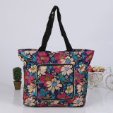 Printed Foldable Carry Gift Comprador de supermercado Shopping Handbag Tote Bag