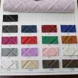кожа PVC картины решетки 1.4mm для сумок (3332)