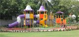 Открытый пластиковый слайд увеселительный парк оборудования детская игровая площадка для установки вне помещений