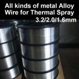 크롬 니켈 합금 전기 아크 철사 3.2mm/2.0mm/1.6mm 열 살포 코팅 도금을%s 저항하는 반대로 부식 산화