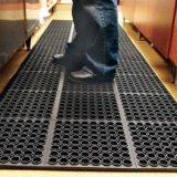 À prova de água Antiderrapante Antiderrapagem Anti fadiga orifícios resistente à prova de água anéis ocos pia de cozinha Tapetes de piso piso de porta