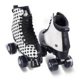 大人(QS-46)のための柔らかいブートのクォードのローラースケート