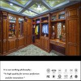 Luxuxqualitätdunkler Brown-Schlafzimmer-hölzerner Wandschrank