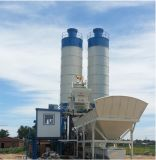Machine de construction mélangeant la centrale de traitement en lots concrète