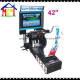 Macchine a gettoni del gioco della galleria che guidano simulatore