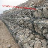Aço inoxidável China Gabião Cesta/Galvanizado Hexagonal Gabião/ Skin Gabião (XM-44)