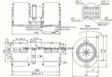Auto Motor do Ventilador do A/C Tk 78-1034, 28.20.01.015