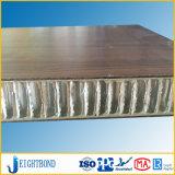 목제 곡물 HPL Formica 부엌을%s 알루미늄 벌집 위원회