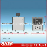 Ce/RoHS Small-Sized Raio X personalizado Sala Scanner para detecção de metal
