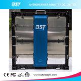 Haute luminosité P8mm Affichage LED de location avec 640mmx640mm Armoire à LED