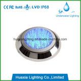 잘 고정된 수중 LED 빛