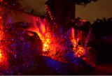 RGB al aire libre impermeable estrella cielo efecto de la ducha proyector iluminación decoración de Navidad jardín luz láser