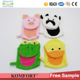 Klb-117 Animal Kids Hand Puppet Gift Sponge Softtextile Bath Glove