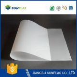 strato del PVC di bianco di 0.75mm per la pubblicità della stampa