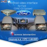 Мультимедийные видео интерфейс для Ford Sync3 с ОС Android, навигации и системы помощи при парковке, приложения